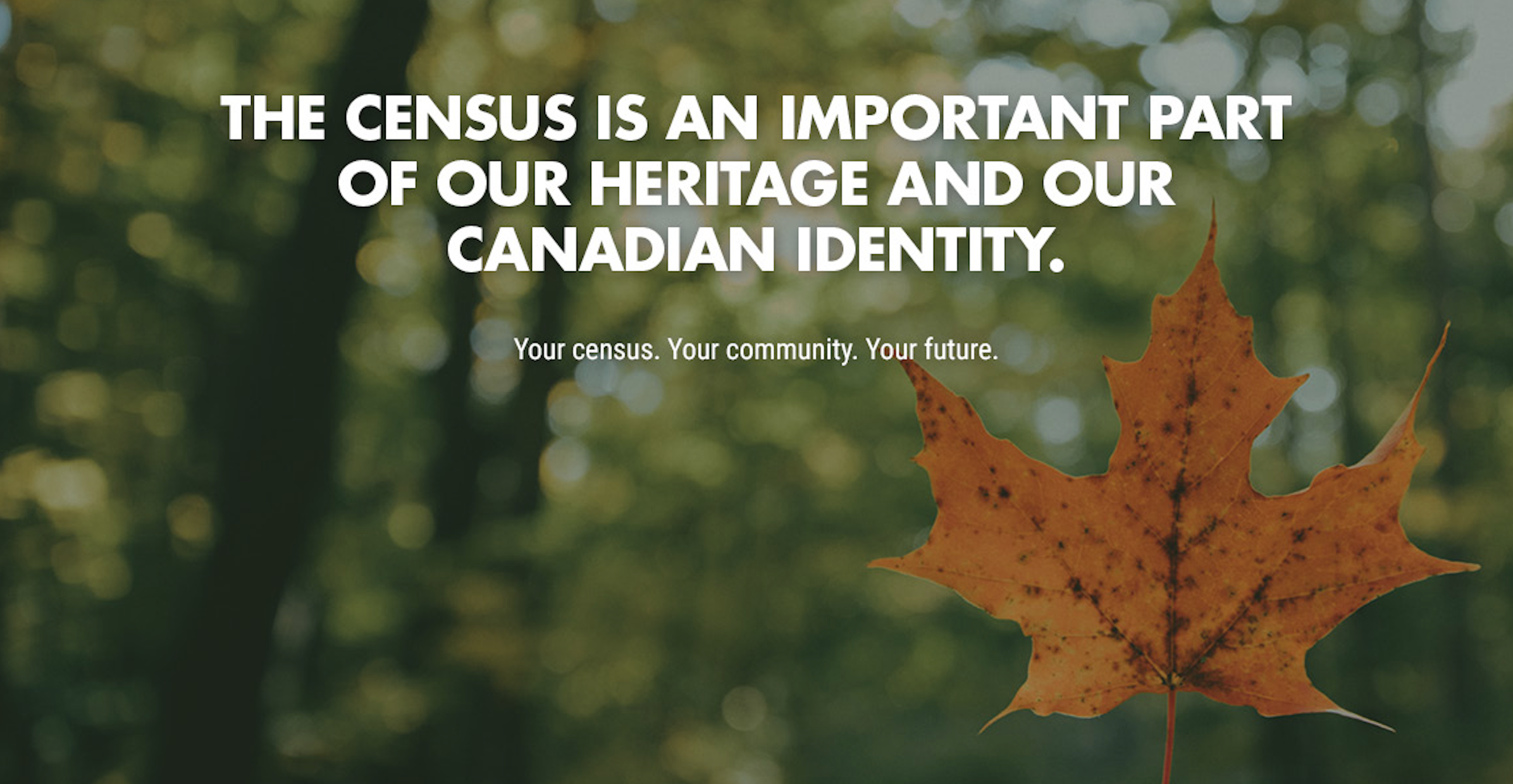 Collection for the 2021 Census begins today!